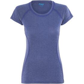 Bergans Cecilie Tee Women Ink Blue Melange/Navy